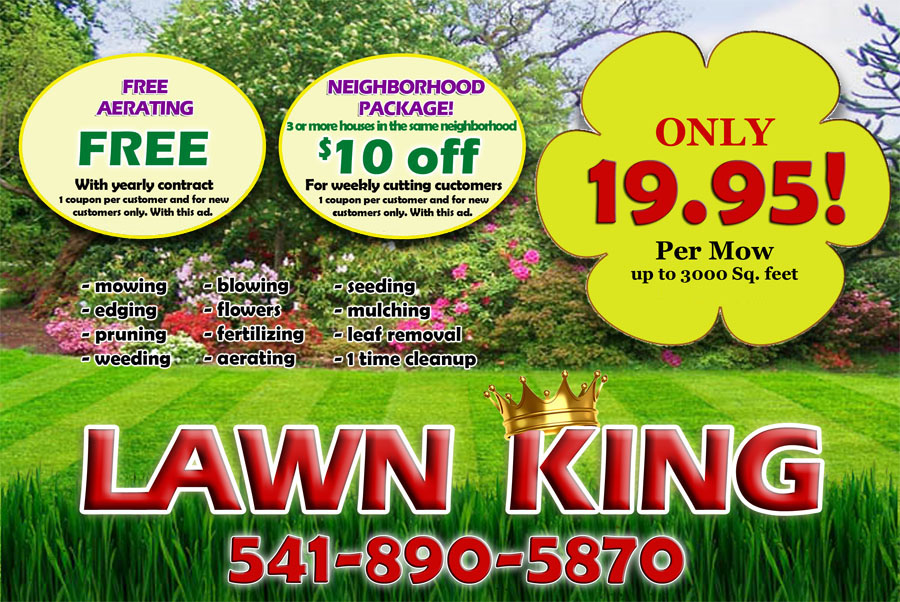 Lawn King Lawn Care Services